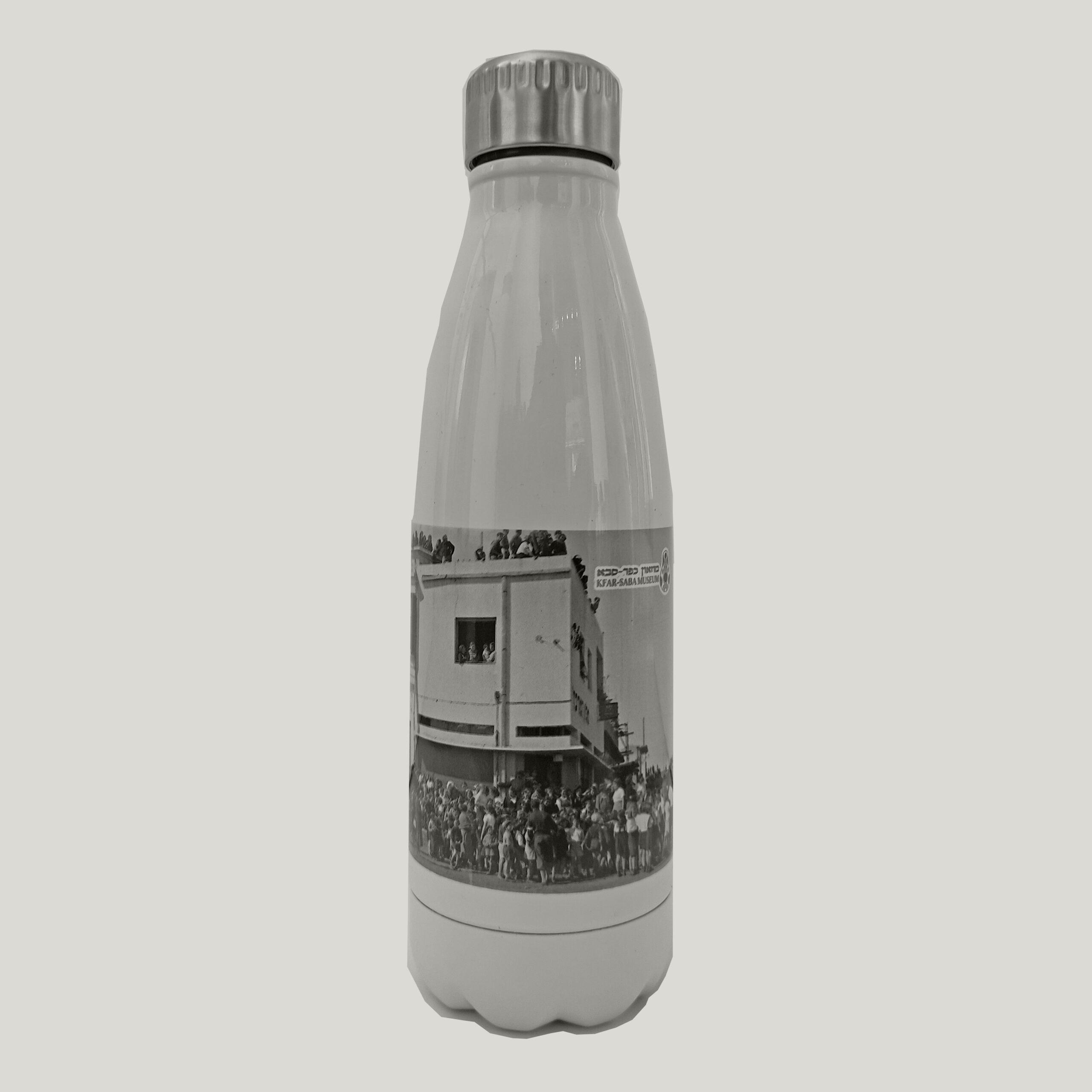 בקבוק טרמי עם צילום היסטורי